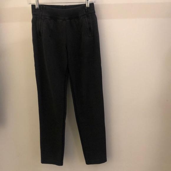 lululemon athletica Pants - Lululemon black sweatpant, sz 4, 68109